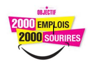 logo 2000 emplois-2000 sourires