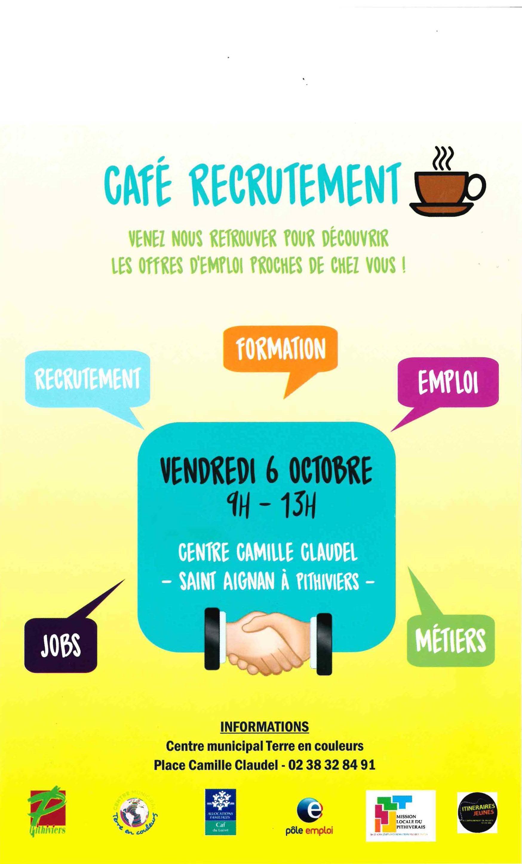 cafe recrutement